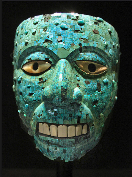 art-aztec-mosaic-turquoise-mask-cedar-wood