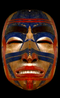 art-haida-mask-wood-gold-red-bleu-1800