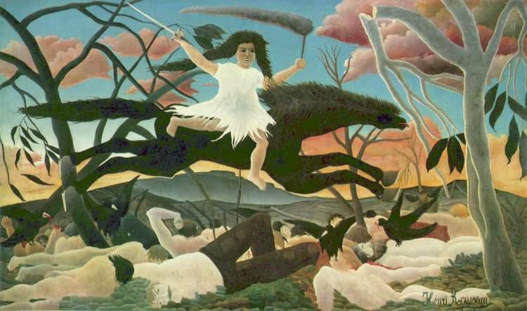 art-Henri-Rousseau-guerre-