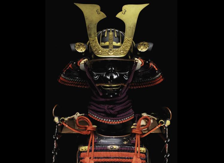 art-tukugawa-armour-samourai-japan