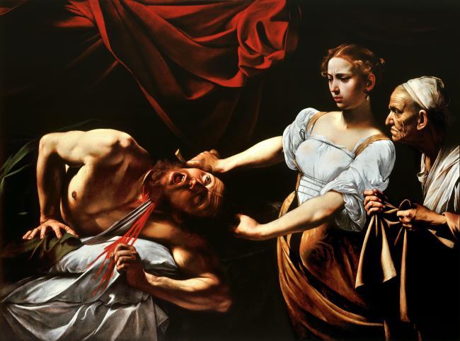 Judith_Beheading_Holofernes-Caravaggio_(c.1598-9)-1