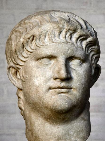 Nero a roman sculpture