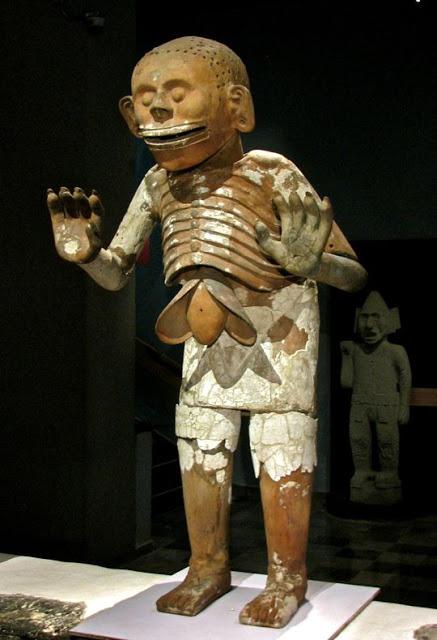 Mictlantecuhtli God of Death, Azteck