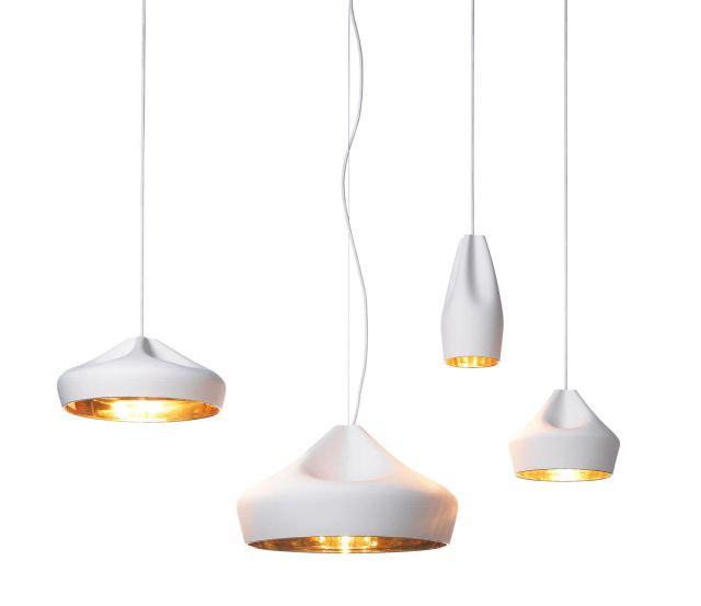 Pendant lamp / contemporary / ceramic