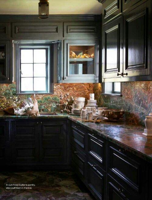 Superior Interior Kitchen Kelly Wearstler Black 22